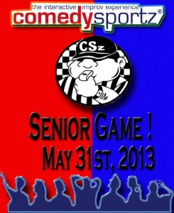 comedysportz senior game 5-31-2013