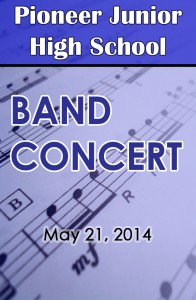 Pioneer Band 5-21-2014