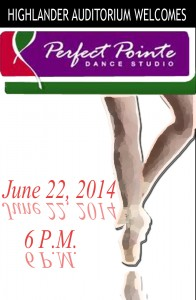 Perfect Pointe Dance 6-22-2014